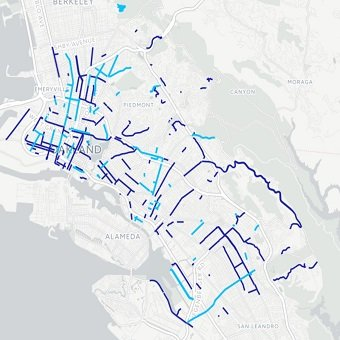 City of Oakland Map Landing Page City Of Oakland Map on